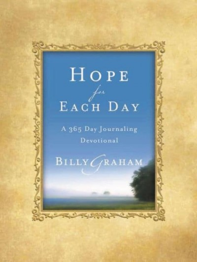 Hope For Each Day: A 365 Day Journaling Devotional