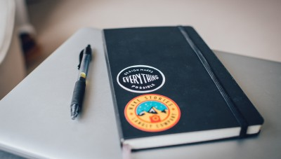 notebook to create a personal development plan
